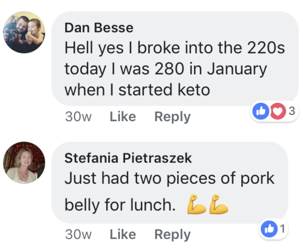 Keto Resources Testimonial
