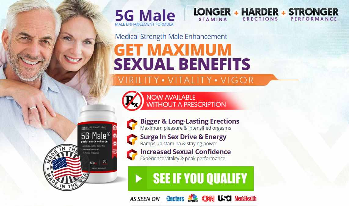 5G Male Review – Performance Enhancer For Men