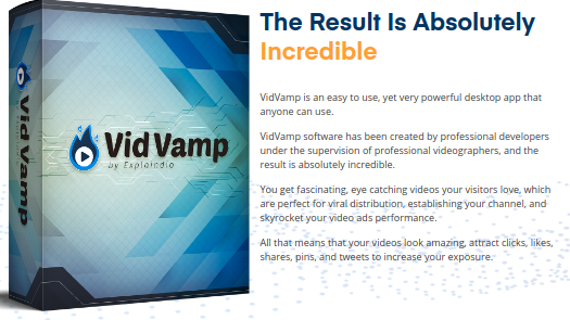 Vidvamp Review – Revamp Your Videos With Stunning Effect!!!